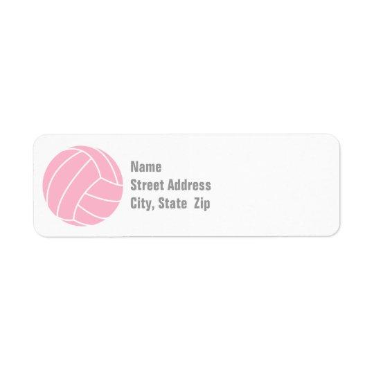 Light Pink Volleyball
