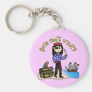 Light Pirate Girl Keychains