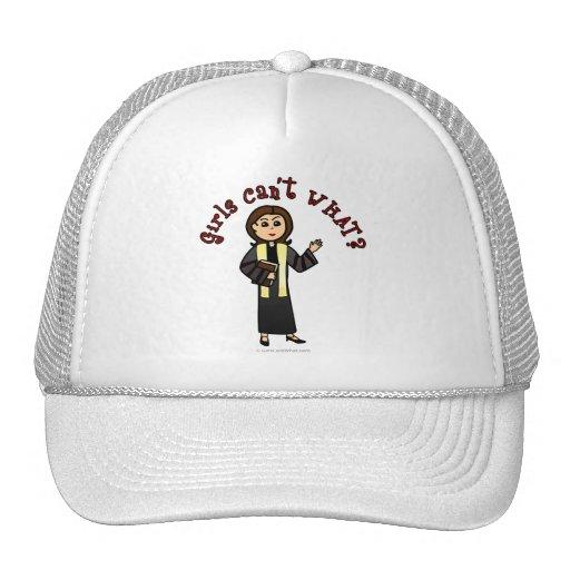 Light Preacher Girl Trucker Hat