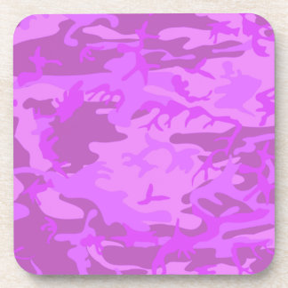 Light Purple Camouflage Coasters