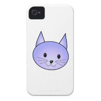 Light purple cat. iPhone 4 Case-Mate cases