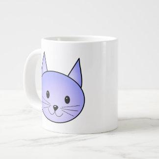 Light purple cat. jumbo mug