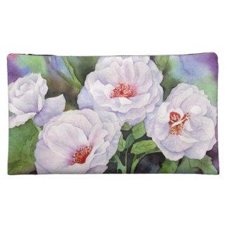 Light Purple Flowers Cosmetic Bag