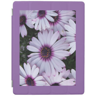 Light Purple Flowers Smart Cover for IPAD iPad Cover