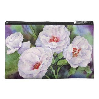 Light Purple Flowers Travel Accessories Bags