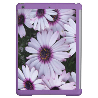Light Purple Flowers with Purple Background