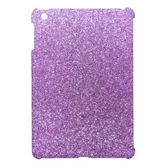 Light purple glitter iPad mini cover