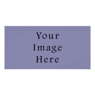 Light Purple Haze Color Trend Blank Template Photo Card