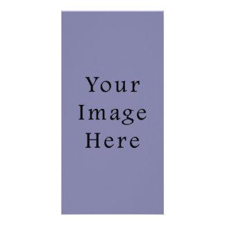 Light Purple Haze Color Trend Blank Template Custom Photo Card