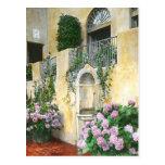 Light Purple Hydrangeas in full bloom Postcard