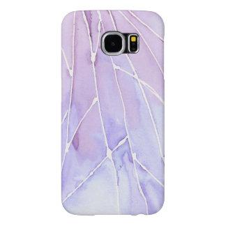 Light Purple Marble Break Samsung Galaxy S6 Cases