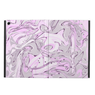 Light purple marble texture case for iPad air