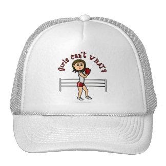 Light Red Boxer Trucker Hat