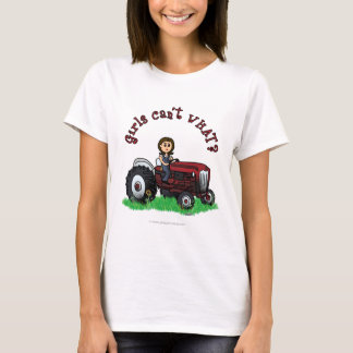 Light Red Farmer Girl T-Shirt