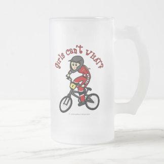 Light Red Girls BMX Mugs