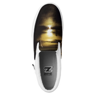 Light Reflection Slip On Shoes