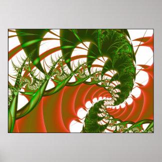 light reverie of the praying mantis print