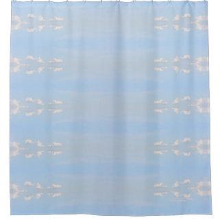 Light Rose Lake Vermilion Summer Sky Shower Curtain
