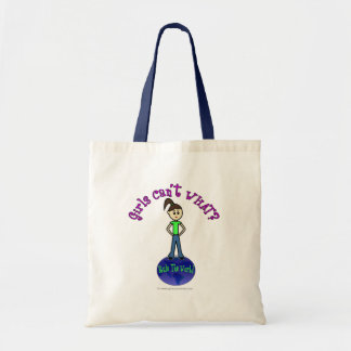 Light Rule The World Girl Budget Tote Bag