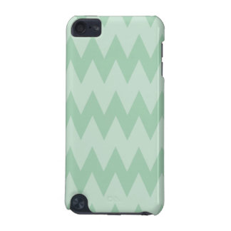 Light Sage Green Zigzags. iPod Touch (5th Generation) Case