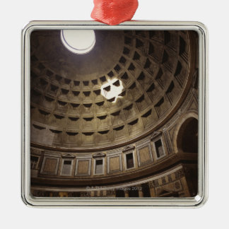 Light shining through oculus in The Pantheon in Christmas Ornament