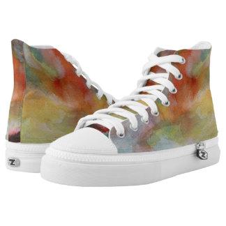 Light Shoes Watercolor Fusion
