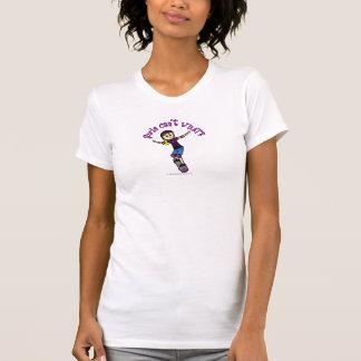 Light Skater with Helmet T-Shirt