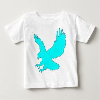Light Sky Blue Eagle Image Tshirt