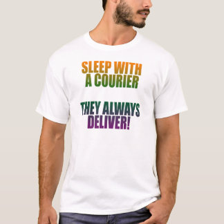 Light sleep with a courier T-Shirt