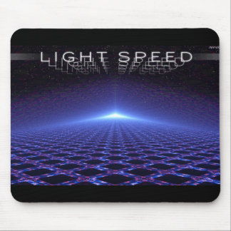 Light Speed Mouse Pad