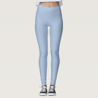 Light steel blue leggings