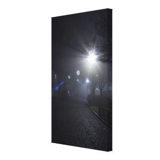 Light Streaks Canvas Print