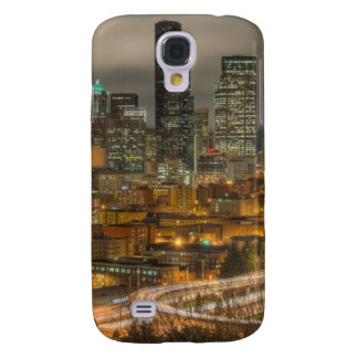 Light streaks from cars at night galaxy s4 case