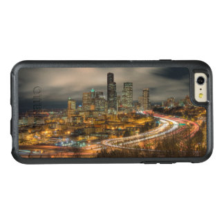 Light streaks from cars at night OtterBox iPhone 6/6s plus case