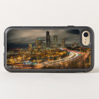 Light streaks from cars at night OtterBox symmetry iPhone 7 case