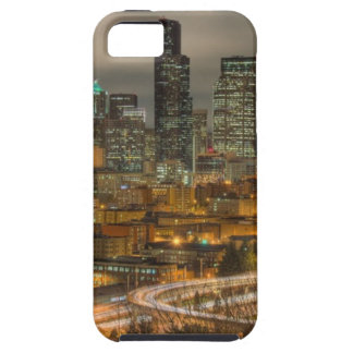 Light streaks from cars at night tough iPhone 5 case