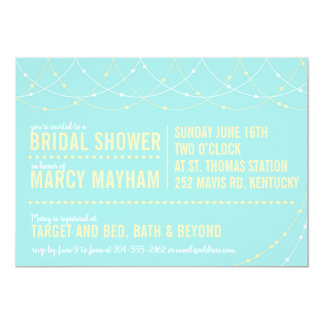 Light Strings Party Invitation