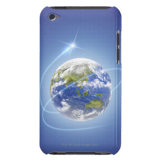 Light Surrounding Earth Barely There iPod Case