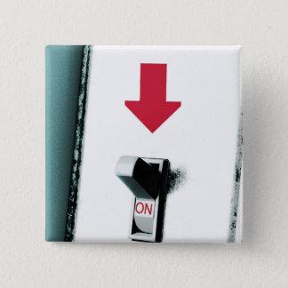 Light Switch 15 Cm Square Badge
