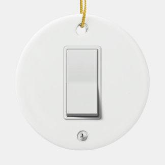 Light Switch Christmas Ornament