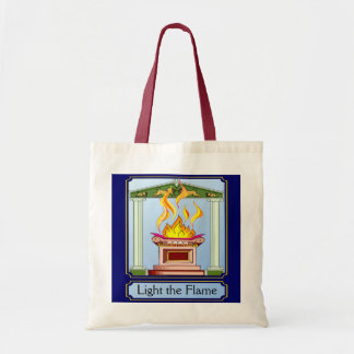 Light the flame canvas bags