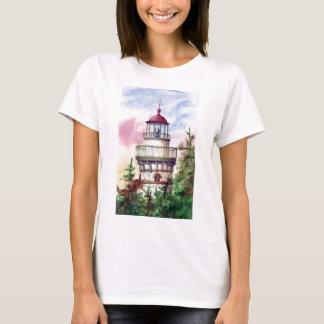 Light The Way Lighthouse  Ladies Tshirt
