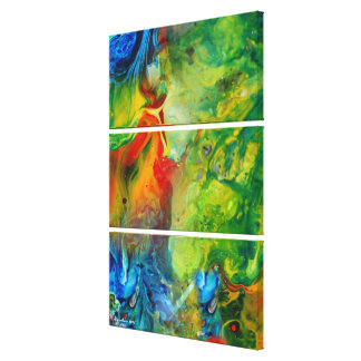 Light Torch 1 Abstract Landscape Canvas Print