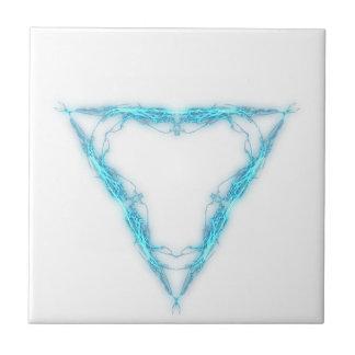 Light triangle tile