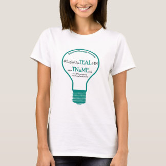 Light Up TEAL 4 Trigeminal Neuralgia T-Shirt