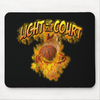 Light up the Court Mouse Pad