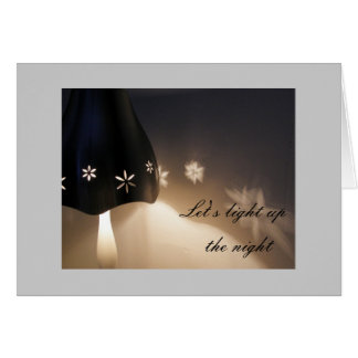 Light up the night card