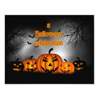 Light Up The Night Halloween Party Invitation