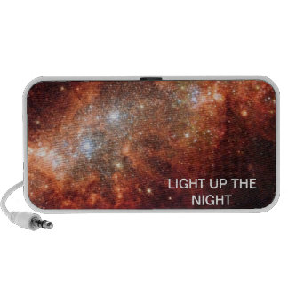 LIGHT UP THE NIGHT MP3 SPEAKERS