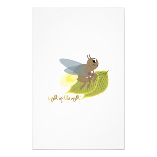 Light Up The Night Personalized Stationery